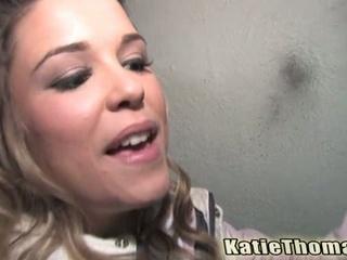 Katie thomas fucking black dude on a alley