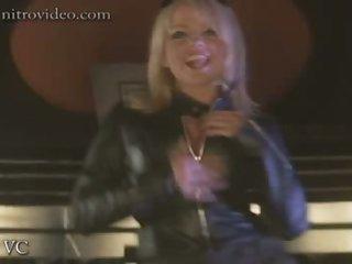Insanely Hot Blonde Babe Angela Little's Super Hot Striptease