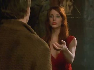 Sexy Blue-Eyed Dark brown Diane Neal Looking Truly Hot As a Vampire