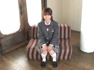 Asuka Hoshino Gives Oral-sex Wearing Her School Uniform