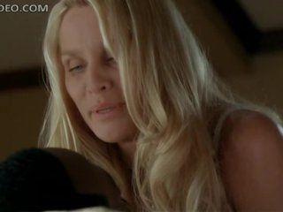 Unbelievably Marvelous Nicolette Sheridan Dancing In Super Hot Lingerie