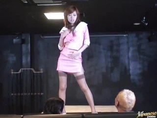 Slutty Keito Miyazawa Simulates a Hot Masturbation Scene
