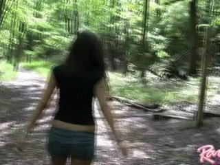 Raven Riley in the Woods