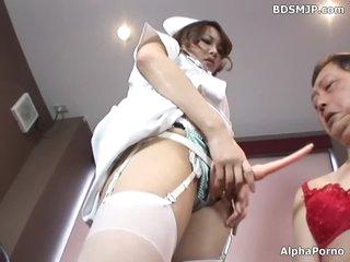 femdom nurse anal dong in hospital