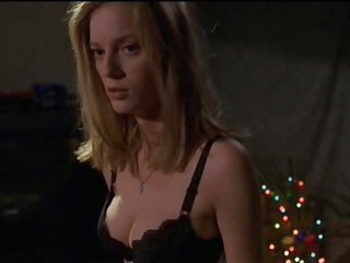 Cute Blonde Honey Sarah Polley Takes Off Her Shirt In a 'Go' Scene