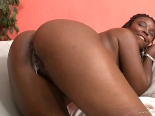 Foxy Darksome Beauty Stacy Adams Gets Her Wet Fur pie Fucked and Creampied