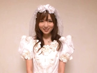 Newly Wed Yuu Asakura Sucks Cock and Receives Fucked Hardcore Style