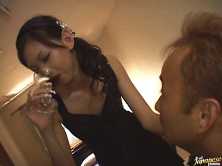 Drunk Asian Teen Mimi Receives Fucked and Facialized