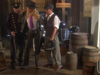Hot Blonde Detective Jessica Drake Getting Her Pussy Fucked In Three-some