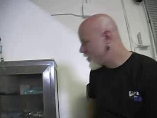 Tranny fucker eats a titty martyr