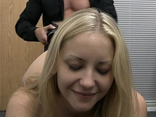 Hardcore Casting finished with facial cumshot