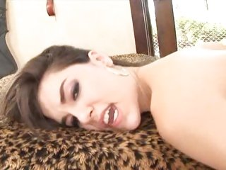 Porn babe Sasha Grey is beaten in both burrows
