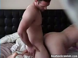 Cheating slut caught in the act