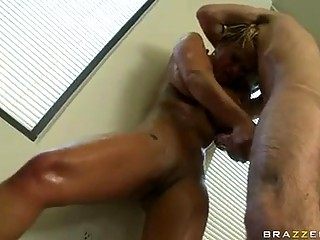 Sex Bombshell Shyla Stylez Gets Her Face All Cummed After One Excited Assfuck