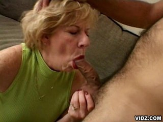 Featuring this unstoppable blonde oldy as she takes in the limelight ater a long time of cock scarcity and see how she grooves in to enjoy these two astounding cocks in one hell of a threesome that you won't dare to forget.