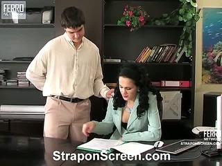 Joanna&Adam kinky strapon video