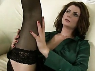 Sensual cougar Maiky fingers her slick mother i'd like to fuck cunt