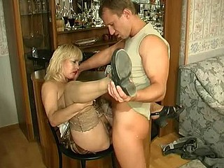 Carol&Adrian raunchy aged movie scene