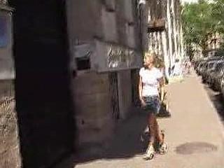 Street peeing mess