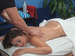 Allie tempted and fucked by her massage therapist on hidden camera