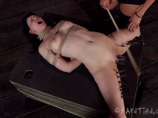 pussy torture done by another woman