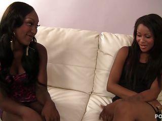 ebony lesbians fucking gently