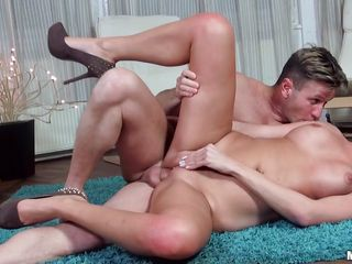 pretty blonde fucked on the carpet