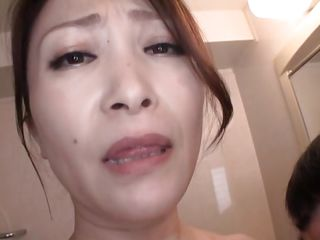 nippon milf gives amazing sloppy blowjob