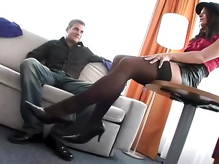 Hot Footjob Foot Sex