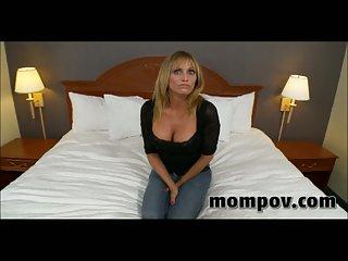 Big tits milf gets POV cock