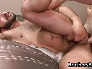 Brothers homosexual guys ass fucking