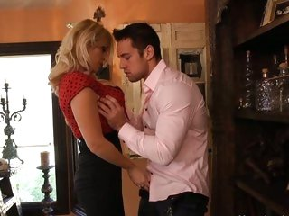 Nasty Charlee Chase seduces this sexy hunk