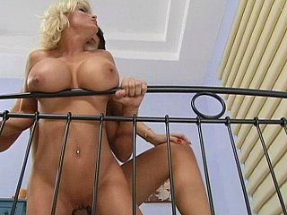 Very busty hot mommy moans of fun
